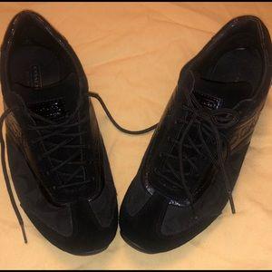 100% Authentic Coach All black shoes
